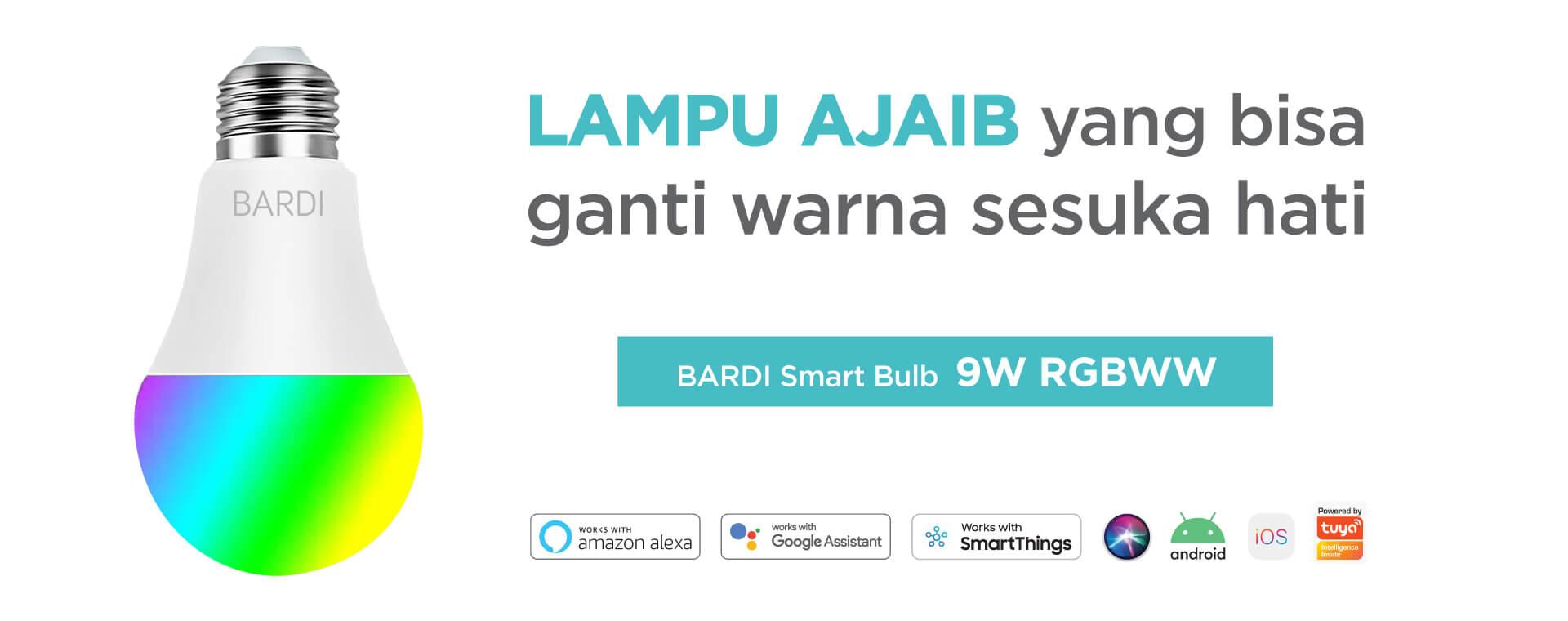 BARDI Smart Bulb 9W RGBWW Homepage Banner 1920x760 A (1)